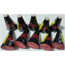Set 10 artificii tip vulcani de interior cu aprindere manuala