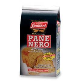 Faina de grau italiana pentru paine neagra cu 7 cereale 1kg -  molino spadoni