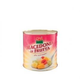 Salata de fructe macedonia in sirop su 2,6 kg