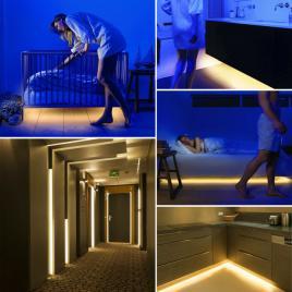 Sir LED cu senzor de miscare - 55841