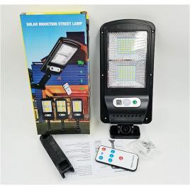 Lampa LED 25W 600lm  solara cu senzor miscare si buton ON-OFF