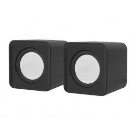 Set mini boxe difuzoare usb pentru computer sau laptop, jack 3,5 mm, 2x3w