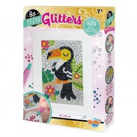Set creativ glitters - tucan