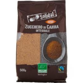 Zahar brun integral bio (melasa) din trestie de zahar solidal 500g