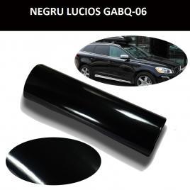 Folie auto negru lucios 1m x 1.5m gabq06 mall