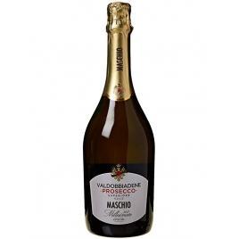 Prosecco maschio extra dry valdobbiadene millesimato docg 750 ml, 10.5% alcool