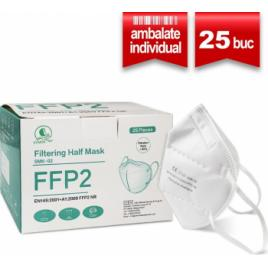 Masca Protectie FFP2 SERIX 5 Straturi 25 Buc Ambalate Individual