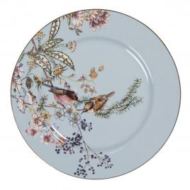Farfurie din ceramica albastra Ø 20 cm x 2 cm