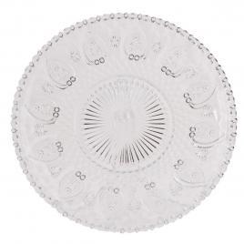 Farfurie din sticla transparenta Ø 25 cm