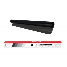 Folie auto super dark black cu transparenta 5%, dimensiune 75x300cm