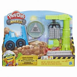 Play-doh macara si stivuitor