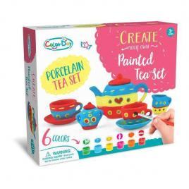 Set creativ de pictura cescute de ceai