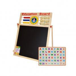 Tablita magnetica alb-negru cu accesorii