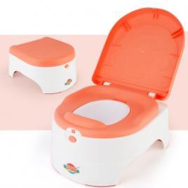 Olita cu capac si scaun pentru copii