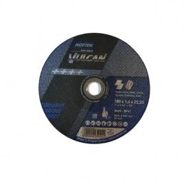Disc Norton Saint Goban 180x1.6x22mm Vulcan metal si inox