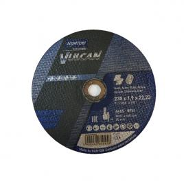 Disc Norton Saint Goban 230x1.9x22mm Vulcan metal si inox