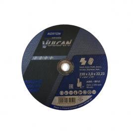 Disc Norton Saint Goban 230x2x22mm Vulcan metal si inox