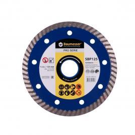 Disc diamantat StahlbetonPRO SBP 125mm pentru taierea uscata a betonului beton armat placi de pavaj beton greu beton de bordura gresie
