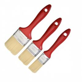 Set pensule cu maner din PVC 3 buc dimensiuni  1x20mm  / 1x30mm  / 1x40mm