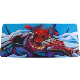 Mouse pad profesional pentru jucatori, dragon, colorat, 90x40cm, desen i