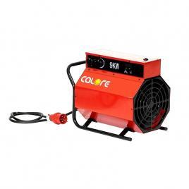 Tun de caldura electric C9 CALORE, putere calorica 9kW, tensiune 400V, debit 830mcb