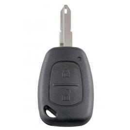 Cheie completa,2 butoane, cu chip PCF7946 si telecomanda, 433Mhz, compatibila, Renault, Opel, Nissan