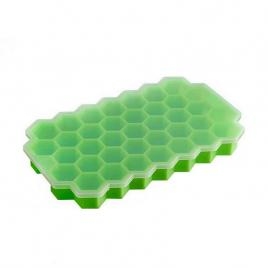 Forma cuburi de gheata Fagure Hexagon Pro din silicon - potrivita si pentru uz profesional Verde