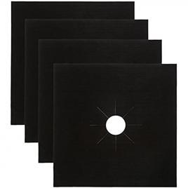 Set 4 Folii de Protectie Premium pentru Plita si Aragaz BLACK