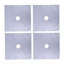 Set 4x Folie de Protectie Reutilizabila pentru Plita si Aragaz - Compatibilitate Universala Premium Gri - Original Deals