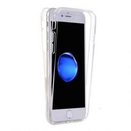 Husa Apple iPhone 6/6S FullBody ultra slim TPUfata - spate transparenta