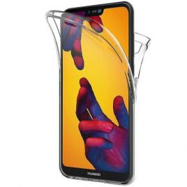 Husa Huawei P20 Lite FullBody ultra slim TPUfata - spate transparenta