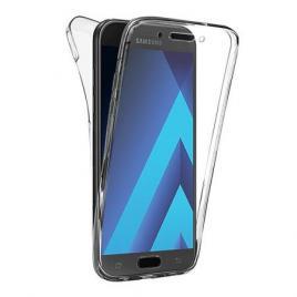Husa Full TPU  360 (fata + spate) pentru Samsung Galaxy A5 (2017) Transparent