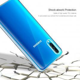 Husa Samsung Galaxy A10 FullBody ultra slim TPUfata - spate transparenta