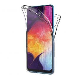 Husa Samsung Galaxy A50 FullBody ultra slim TPUfata - spate transparenta