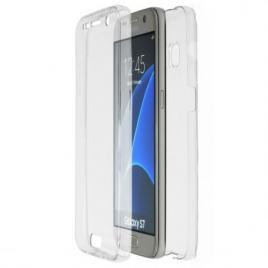 Husa Samsung Galaxy S7 Edge FullBody ultra slim TPUfata - spate transparenta