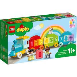 Trenul cu numere lego duplo – invatam sa numaram 10954