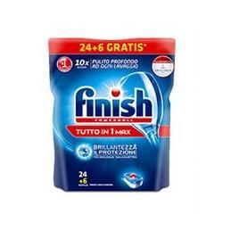 Finish detergent tutto in 1 max lemon capsule pentru masina de spalat  vase 24 utilizari