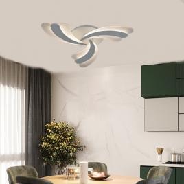 Lustra led cu telecomanda, design modern, lumina calda / neutra / rece si intensitate reglabila