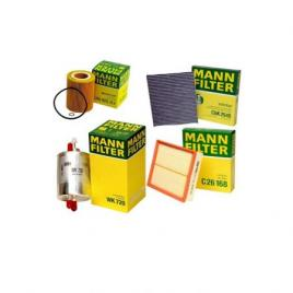 Pachet filtre revizie BMW 3 316 i 105 CP Mann-Filter