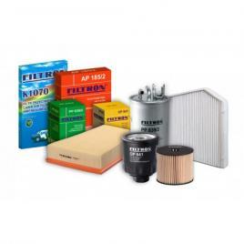 Pachet filtre revizie VW TOURAN 1.6 FSI 115 cai filtre Filtron