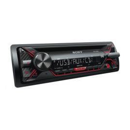 Radio CD auto Sony CDXG1200U 4 x 55 W USB AUX Rosu