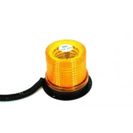 Girofar omologat U.E. cu 30 SMD IP65 12-24V lumina portocalie