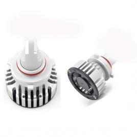 Set 2 becuri HB3 9005 cu LED F2 chip led TAIWAN Putere: 30W - 4800 lumen 6000k Voltaj: 12-24V