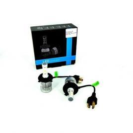 Set Bec H3 cu LED S2 chip led Korea Putere: 40W - 4800 lumen 6000k Voltaj: 12-24V