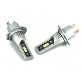 Set 2 becuri H7 cu LED CSP2121 4000 lumen 6000k Voltaj: 12-24V