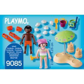 Set jucarii Copil pe plaja multicolor