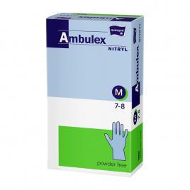 Manusi Pentru Examinare Nepudrate Din Nitril Ambulex M