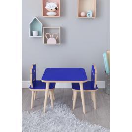 Set masuta copii  42x50 cm  albastru