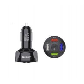 Incarcator Auto Premium cu 4 Porturi USB 3.0 Fast Charge