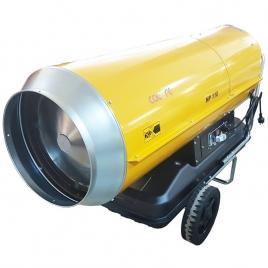 Tun de caldura cu ardere directa HP110 CALORE, putere 111kW, debit aer 3950mcb/h, motorina, 230V